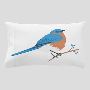 Eastern Bluebird Pillow Case
