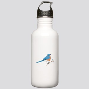 Eastern Bluebird Water Bottle