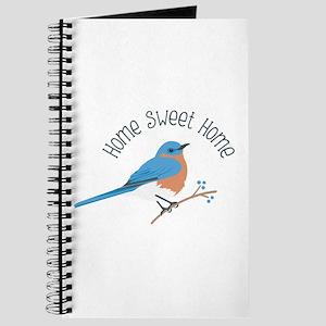 Home Sweet Home Bluebird Journal