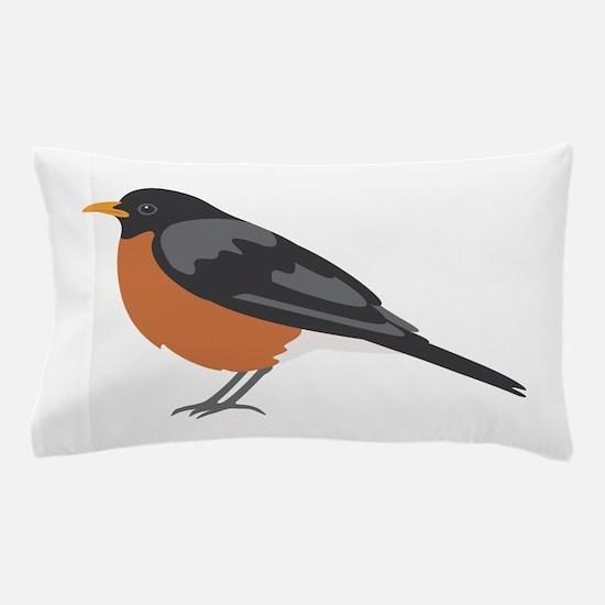 American Robin Pillow Case
