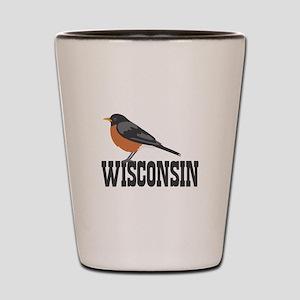 WISCONSIN Shot Glass