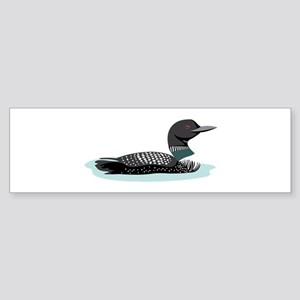 Great Northern Loon Bumper Sticker