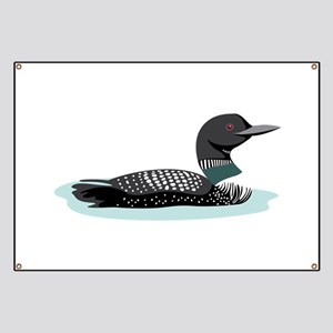 Great Northern Loon Banner