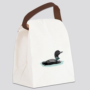 Great Northern Loon Canvas Lunch Bag
