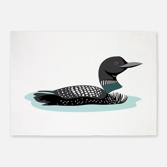 Great Northern Loon 5'x7'Area Rug