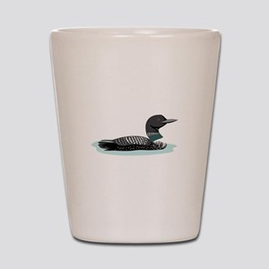 Great Northern Loon Shot Glass
