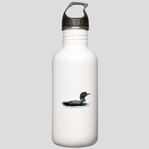Great Northern Loon Water Bottle