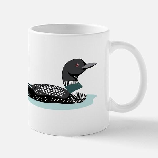 Great Northern Loon Mugs
