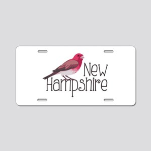 New Hampshire Finch Aluminum License Plate
