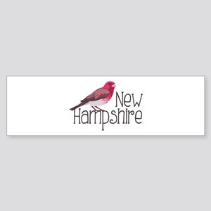 New Hampshire Finch Bumper Sticker