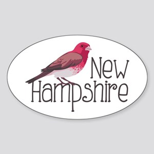 New Hampshire Finch Sticker