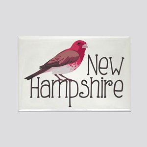 New Hampshire Finch Magnets