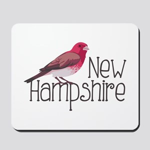 New Hampshire Finch Mousepad