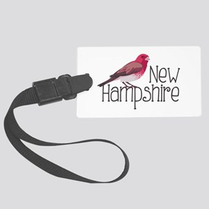 New Hampshire Finch Luggage Tag