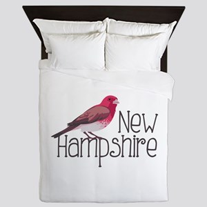 New Hampshire Finch Queen Duvet
