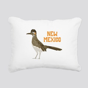 NEW MEXICO Roadrunner Rectangular Canvas Pillow