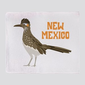 NEW MEXICO Roadrunner Throw Blanket