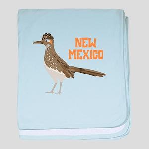 NEW MEXICO Roadrunner baby blanket
