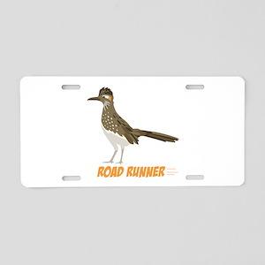 ROAD RUNNER Aluminum License Plate