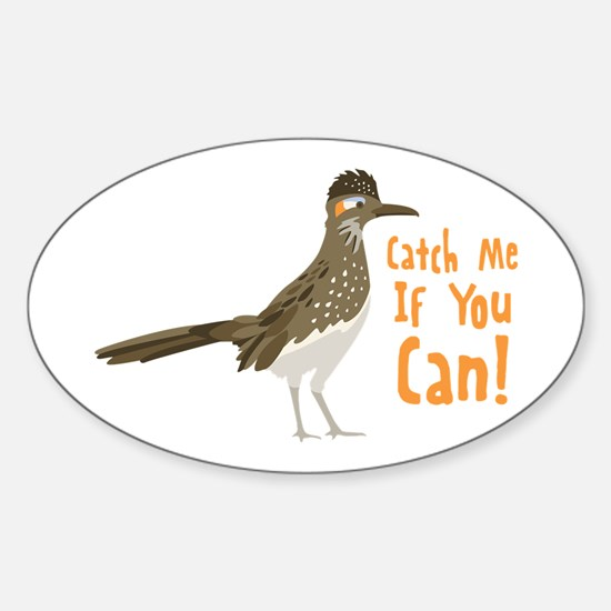 Catch Me If You Can! Decal