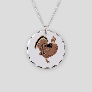 Ruffled Grouse Necklace