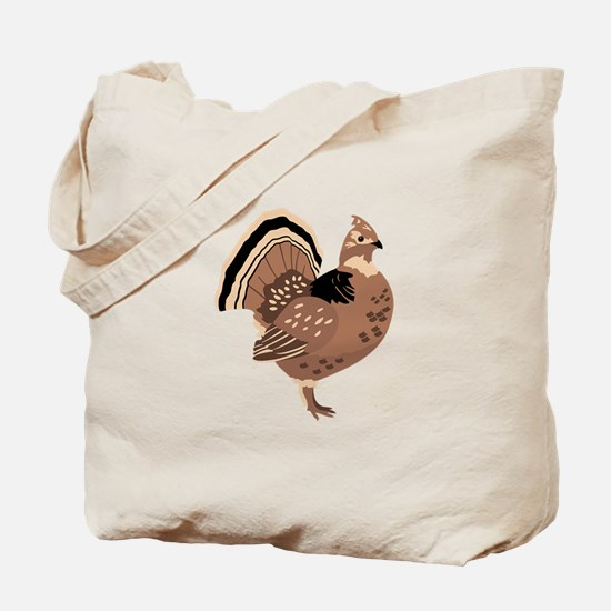 Ruffled Grouse Tote Bag