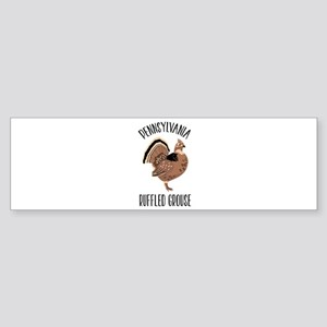 PENNSYLVANIA RUFFLED GROUSE Bumper Sticker