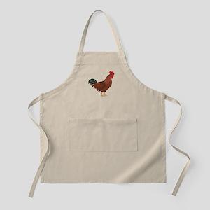 Red Chicken Apron