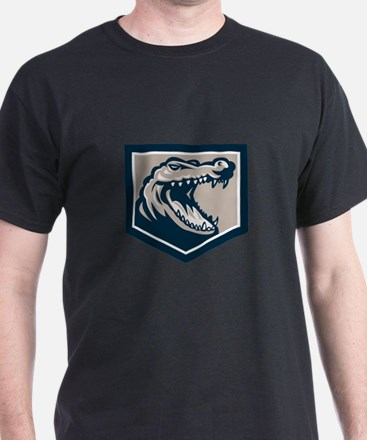 Alligator Head Snout Retro T-Shirt