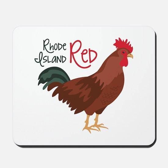 RhoDe IsLaND ReD Mousepad