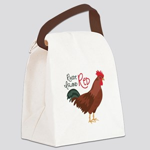 RhoDe IsLaND ReD Canvas Lunch Bag