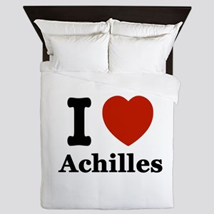 I love Achilles Queen Duvet