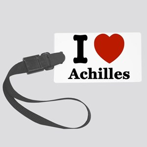 I love Achilles Large Luggage Tag