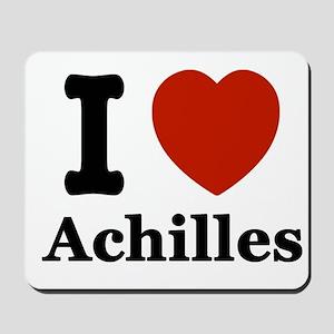 I love Achilles Mousepad