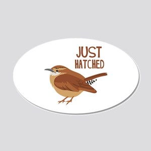 JUST HATCHED Wall Decal