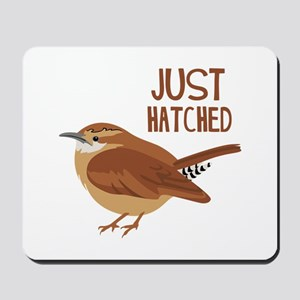JUST HATCHED Mousepad