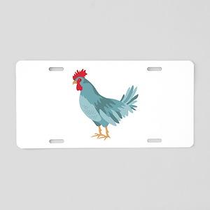 Blue Hen Aluminum License Plate