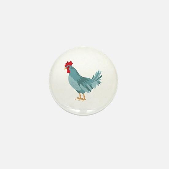 Blue Hen Mini Button