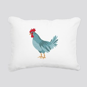 Blue Hen Rectangular Canvas Pillow