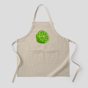 Lime Half Apron