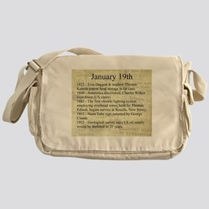 January 19th Messenger Bag