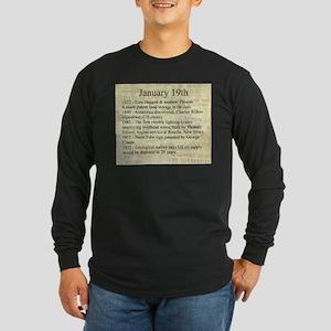 January 19th Long Sleeve T-Shirt