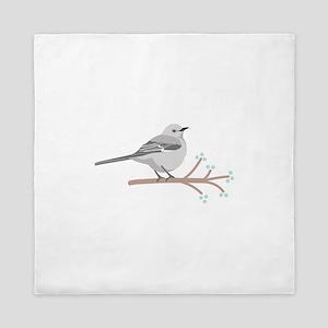 Northern Mockingbird Queen Duvet