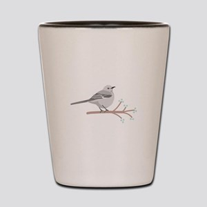 Northern Mockingbird Shot Glass