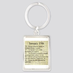 January 15th Keychains