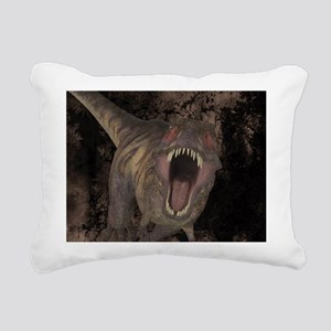 Tyrannosaurus Rex 1 Rectangular Canvas Pillow