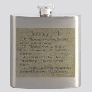 January 11th Flask
