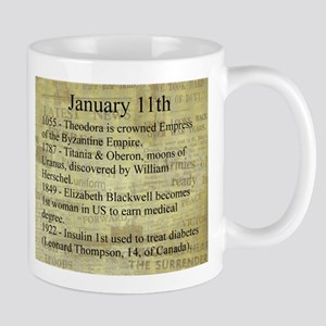 January 11th Mugs