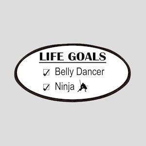 Belly Dancer Ninja Life Goals Patches