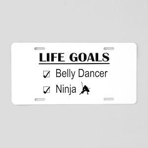 Belly Dancer Ninja Life Goa Aluminum License Plate
